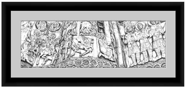 Framed mockup of Bible Stories in Stone
