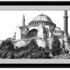 Framed print of Hagia Sophia Agape